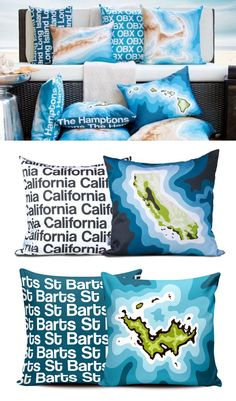 #Pillow #Travel #Maps