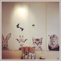 Magneetbehang 'Animals' - Magneetbehang 'Animals'