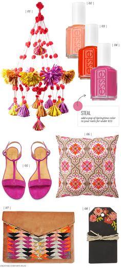 Color Crush: Springtime Pop