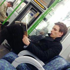 "@fantasticbeasteddie on Instagram: ""Has anybody of you seen Eddie in the Tube?? Wanna see more photos? . . #london #londontube #tube…"""