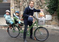SD Bike Commuter - The Family Bike: One Less Minivan, Pedal Parents and riding with your kids