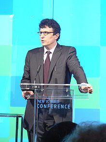 David Remnick in 2008. - David Remnick (1958 - ) American journalist, magazine editor...won a Pulitzer Prize in 1994 ( Lenin's Tomb: The Last Days of the Soviet Empire)...editor of The New Yorker magazine since 1998...was named Editor of the Year by Advertising Age in 2000. Before...was the Moscow correspondent for The Washington Post...also served on the New York Public Library's board of trustees. In 2010 his sixth book The Bridge: The Life and Rise of Barack Obama.