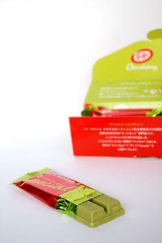 Om Nom Nomad - Sakura Green Tea Kit Kat