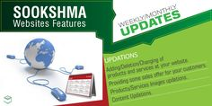 Sookshma Offers Monthly/Weekly Updation of Website | sorms.in
