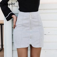 Click 2 buy Simplee Sexy leat...  http://isaledresses.com/products/simplee-sexy-leather-suede-pencil-skirt-women-zipper-ring-autumn-winter-high-waist-short-skirt-2017-bodycon-party-mini-skirt?utm_campaign=social_autopilot&utm_source=pin&utm_medium=pin Global Shipping!.