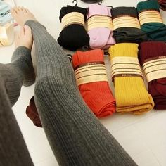 13d86989fc1c8 Details about Hot Women Lady Winter Skinny Slim Stretch Leggings Thick Warm  Cotton Pants Gifts