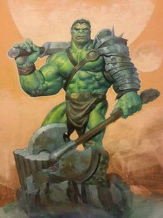 """Because you thought you were stronger than the Hulk? No one is stronger than the Hulk! Comic Book Characters, Comic Book Heroes, Marvel Characters, Comic Character, Comic Books Art, Comic Art, Character Design, Marvel Comics Art, Hulk Marvel"