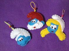 smurf ornaments