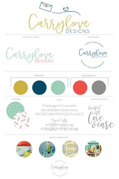 Carrylove Designs | Brand Launch We've launched! After two years, I decided it was time to refresh my design boutique, Carrylove Designs, since I am at a different point in my life, and a new brand design seemed fitting. I am so glad I get to share this with you all! I get called Carry…
