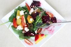 Gojee - Roasted Beet Salad by Judicial Peach