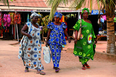 Top Ten things to do in The Gambia, Kotu craft market