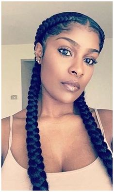 Check Out Our , 31 Best Black Girl Braids Images In 105 Best Halo Braid Images In Cornrow Hairstyles for Girls New Two Cornrow Braids Natural Hair. Two Braids Hairstyle Black Women, Two Braid Hairstyles, Black Girl Braided Hairstyles, Black Girl Braids, Braids For Black Hair, Hair Braiding Styles Black, African Hairstyles, Girl Hair Braids, Black Women Natural Hairstyles