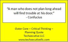 Critical Thinking Quotes, Outer Core, Coaching, How To Plan, Training