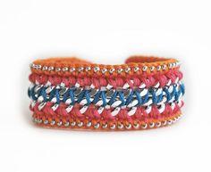 Handmade Gift Guide: 10 Gorgeous Crochet Items from Amazon Handmade: Woven and Crochet Bohemian Bracelet