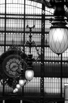 musé dorsay, muse dorsaypari, art, black white, france, travel, museum, place, light
