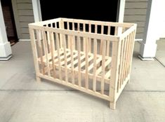 The Design Confidential Reader Showcase: Michaels Low Rise Crib. DIY Crib.