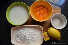 Preparare savarina reteta de cofetarie Savori Urbane (1) Deserts, Pudding, Sweets, Food, Pies, Gummi Candy, Custard Pudding, Candy, Essen