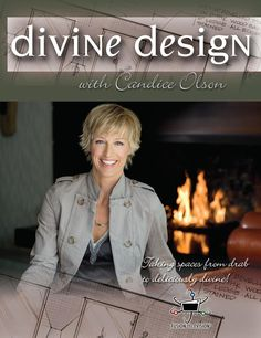 Love, love, LOVE her style! Divine Design with Candice Olson Candice Olsen Design, Candice Olson, Makeover Shows, Hgtv Star, Hgtv Designers, Devine Design, Love Her Style, Favorite Tv Shows, Color Combos