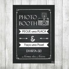 Pôster - Photobooth {Impresso}