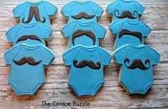 Baby Shower Cupcakes For Boy Blue Onesie Cookies 60 Ideas Distintivos Baby Shower, Baby Shower Cupcakes For Boy, Cupcakes For Boys, Baby Shower Desserts, Boy Baby Shower Themes, Baby Shower Cookies, Baby Shower Parties, Onesie Cookies, Baby Cookies