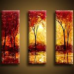 Acrylic and Oil Paintings (Landscape Art) : Indian Summer