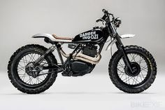 Honda XL500 enduro turned into a cafe racer enduro this is my dream bike as a summer everyday driver