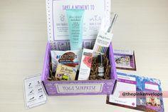 Yoga Subscription Box - Yogi Surprise - The Pink Envelope