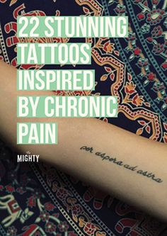 22 Stunning Tattoos Inspired by Chronic Pain