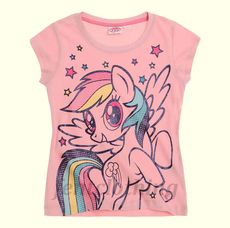 My Little Pony Rainbow Dash Pink T-shirt