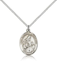 Sterling Silver St Margaret of Scotland Pendant 34 x 12 inches with 18 inch Sterling Silver Curb Chain -- Click image for more details. Men Necklace, Initial Necklace, Pendant Necklace, Necklaces With Meaning, Girls Necklaces, Luxury Jewelry, Unique Jewelry, Necklace For Girlfriend, Religious Jewelry