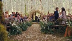 I am a Twilight fan for sure, but even if I were not...This is one of my all time favorite weddings! It is so {beautiful}!