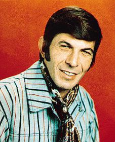 Leonard Nimoy's ability to grow lush sideburns has been woefully overlooked.
