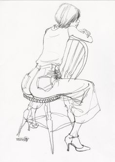 , , Illustration Art Black And White Source by janna_stones. Human Figure Sketches, Figure Sketching, Figure Drawing, Pencil Art Drawings, Art Drawings Sketches, Sketchbook Inspiration, Art Sketchbook, Sketches Of People, Art Reference Poses