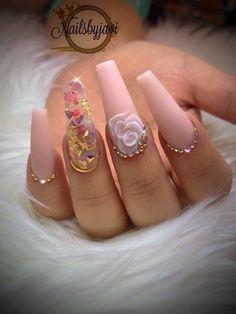 Cute Acrylic Nail Designs, Best Acrylic Nails, Bling Nails, Swag Nails, Feet Nail Design, Bridal Nail Art, Nailart, Luxury Nails, Hot Nails