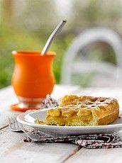 Pasta frola de manzana y pera