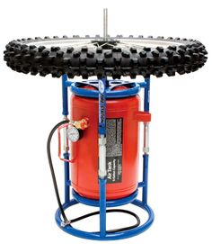 $124.99 Tire Changing Stand and Air Tank Holder - Combine with your air tank to make the ultimate tire changing station.