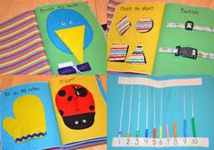 Children's Quiet Book Boy by sweetdreams3 on Etsy