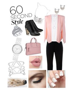 """""""60 second style"""" by cutekitten369 ❤ liked on Polyvore featuring Skinnydip, Marni, Elie Tahari, Botkier, DKNY, Vince Camuto, jobinterview and 60secondstyle"""