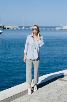 IRAYAA: Into the blue Normcore, Blue, Style, Fashion, Swag, Moda, Fashion Styles, Fashion Illustrations, Outfits