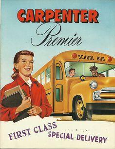Vintage Ads - Bus Weekend - School Bus