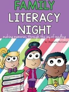 Family Literacy Night K-3 is designed for a school wide event.  95 pages of exactly what you need.  Includes the hands-on activities, station signs, parent welcome sign, parent invitation letter, table tent signs for directions, a letter for parents on how to help their child at home, sign in sheet, and all printables needed.Activities: 1.