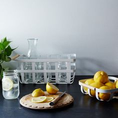 The New Year's Resolution Brigade -- Lemon Water 1st thing in the morning.