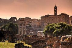 Capitolium from Roman Forum, Rome