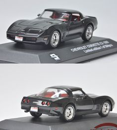 1:43 Scale Model of 1980 Chevrolet Corvette. Want to see more detail pictures? Click on the image to see more.