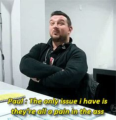 32 Best Paul(one direction's bodyguard ) images in 2013   Paul