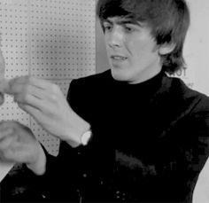 gif the beatles george harrison The Beatles gif george harrison gif Patti Boyd