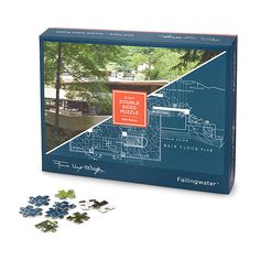 Frank Lloyd Wright Double Sided Puzzle