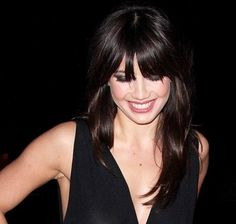 Daisy has a great fringe Hairstyles With Bangs, Pretty Hairstyles, Wedding Hairstyles, Daisy Lowe Hair, Brunette Beauty, Hair Beauty, Hair Heaven, Love Hair, Hair Today