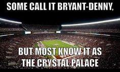 Bryant Denny stadium - Crimson Palace - Roll Tide