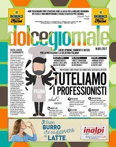 Dolcegiornale, sito web della rivista mensile dedicata ai professionisti della pasticceria e della gelateria ricca di idee e progetti dei grandi maestri.